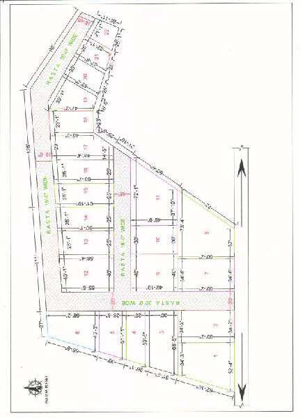 Residential Plot for Sale in Ghazipur - 1388 Sq. Feet