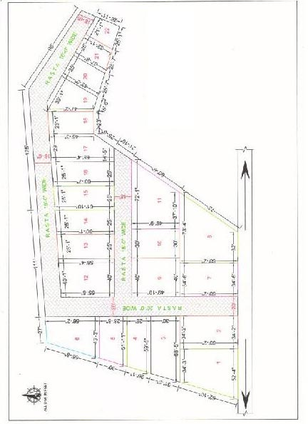 Residential Plot for Sale in Ghazipur - 1026.67 Sq.ft.