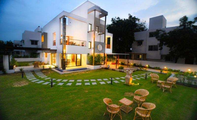 4 BHK Individual House for Sale in Shela, Ahmedabad - 1608 Sq. Yards