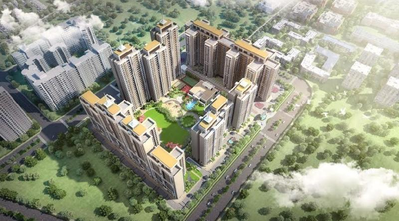 3 BHK Flats & Apartments for Sale in Gomti Nagar Extension, Lucknow - 1375 Sq. Feet