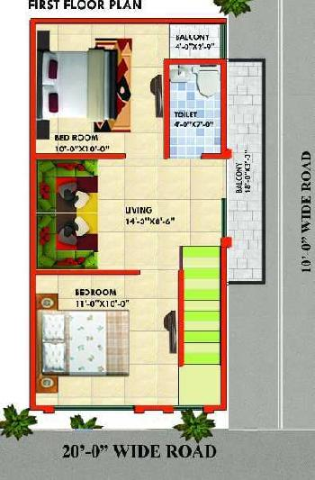 80 Sq. Yards Residential Plot for Sale in NH 91, Ghaziabad