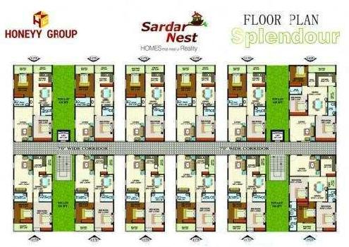3 BHK 1425 Sq.ft. Residential Apartment for Sale in Kanithi Road, Gajuwaka, Visakhapatnam