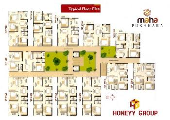 3 BHK 1350 Sq.ft. Residential Apartment for Sale in P. M. Palem, Visakhapatnam