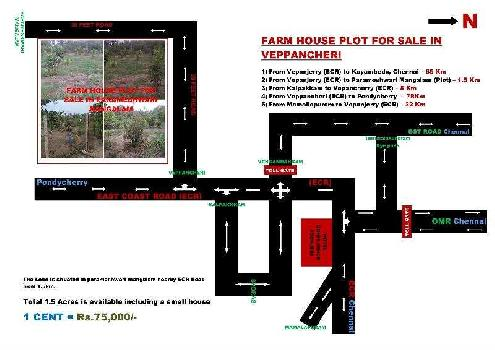 2 Acre Residential Plot for Sale in Koovathur, Kanchipuram