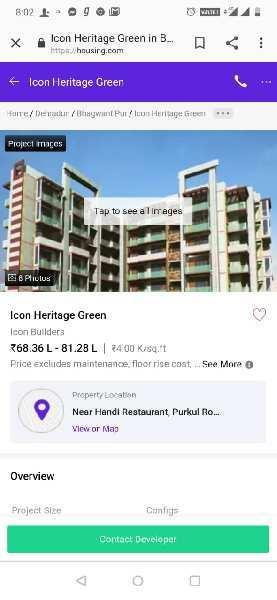 3 BHK 200 Sq. Meter Residential Apartment for Sale in Rajpur Road, Dehradun