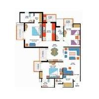 3 BHK Flat for Sale in Sector 45, Noida