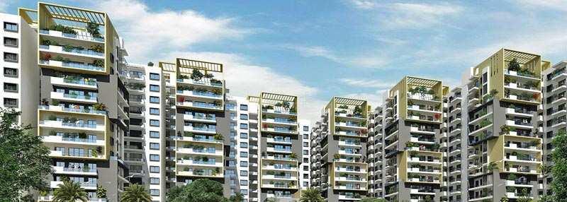 2 BHK Flats & Apartments for Sale in Yelahanka, Bangalore - 1266 Sq. Feet