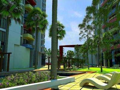 2 BHK Flats & Apartments for Sale in Airport Road, Bangalore - 850 Sq. Feet