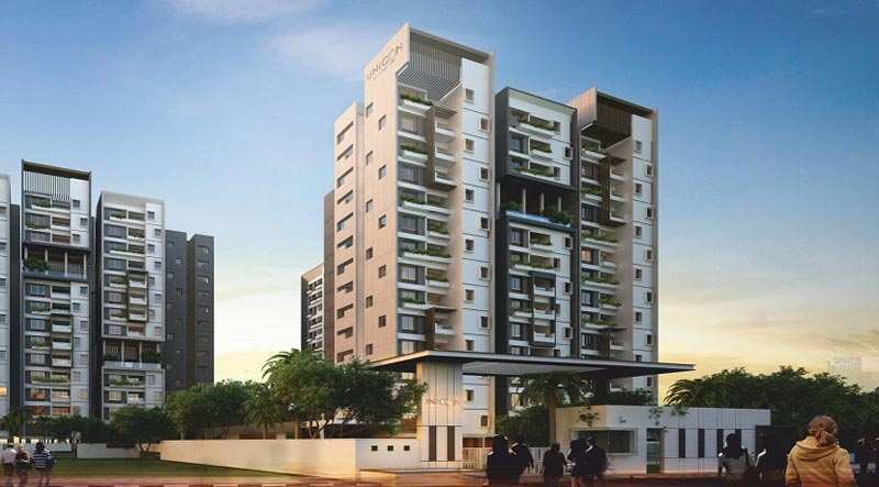 3 BHK Flats & Apartments for Sale in Yelahanka, Bangalore - 1445 Sq.ft.