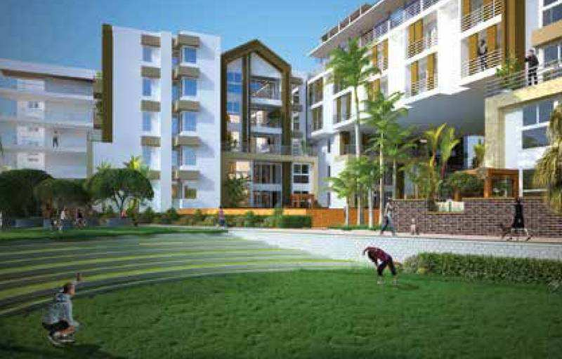 2 BHK Flats & Apartments for Sale in Jakkur, Bangalore - 1230 Sq. Feet
