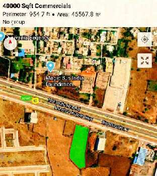 40000 Sq.ft. Commercial Land for Sale in Sarona, Raipur