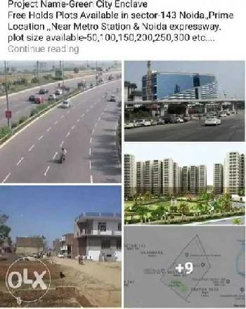 100 Sq. Yards Residential Plot for Sale in Sector 143 Noida