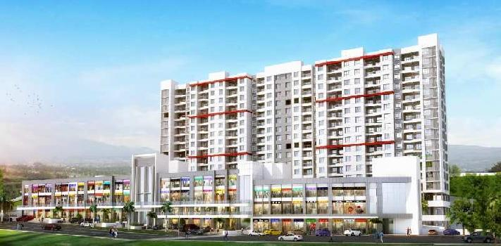 2 BHK 950 Sq.ft. Residential Apartment for Sale in Bhugaon, Pune