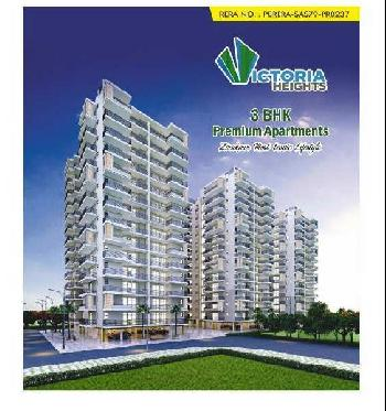 3 BHK 1150 Sq.ft. Residential Apartment for Sale in Peer Muchalla, Zirakpur