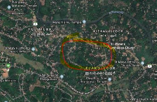 40 Cent Residential Plot for Sale in Pandalam, Pathanamthitta