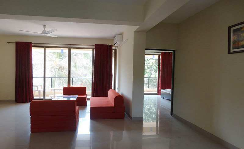 1 BHK Flats & Apartments for Rent in Old Goa - 65 Sq. Meter
