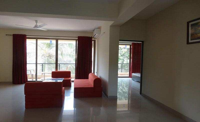 1 BHK Flats & Apartments for Rent in Miramar - 55 Sq. Meter