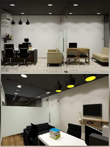 379 Sq.ft. Office Space for Rent in Vesu, Surat