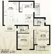 2 BHK Flat for Sale in Sector 78, Faridabad