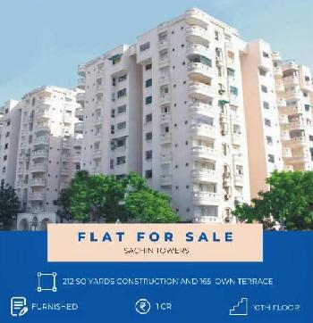 212 Sq. Yards Penthouse for Sale in Shyamal Cross Road, Ahmedabad
