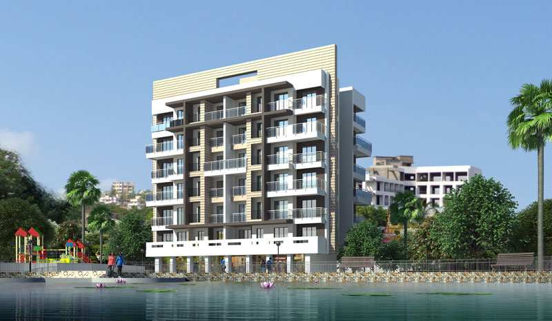 1 BHK Flats & Apartments for Sale in Badlapur - 635 Sq.ft.