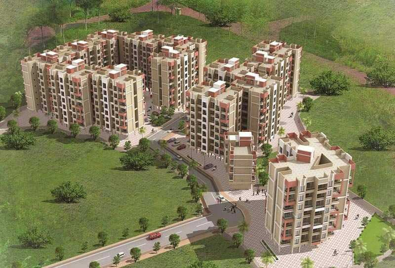 2 BHK Flats & Apartments for Sale in Badlapur, Thane - 764 Sq.ft.