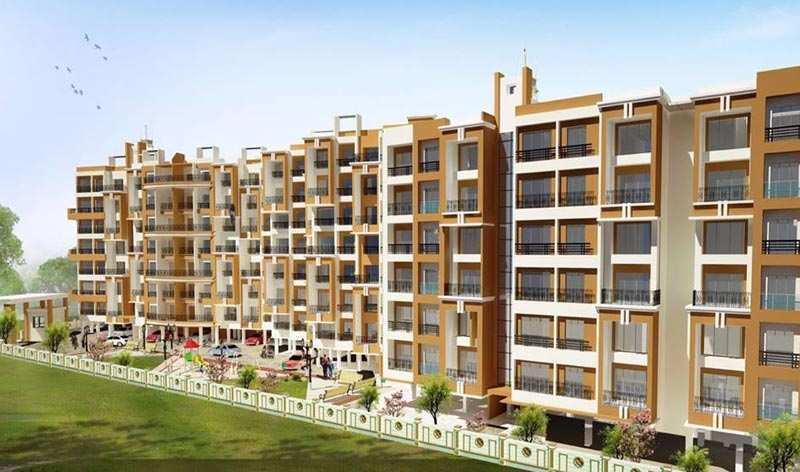 1 BHK Flats & Apartments for Sale in Ambarnath, Thane - 291 Sq. Feet