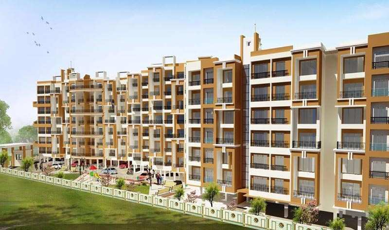 1 BHK Flats & Apartments for Sale in Ambarnath, Thane - 314 Sq. Feet