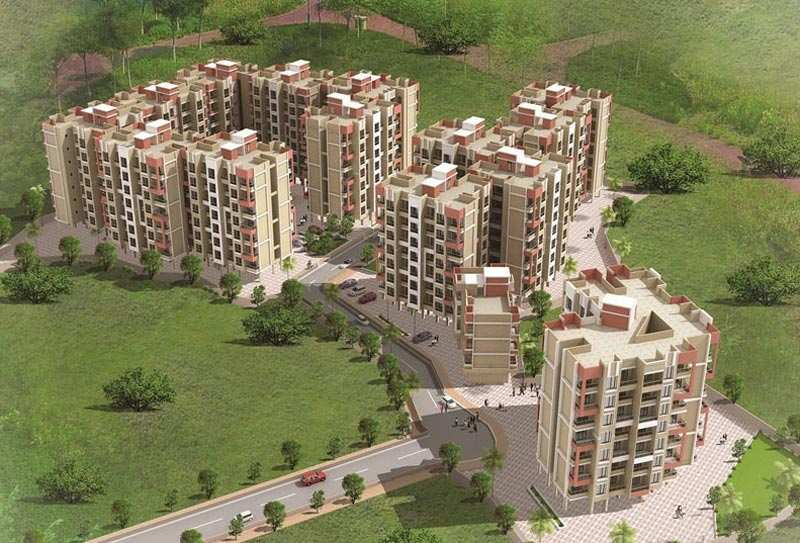 2 BHK Flats & Apartments for Sale in Badlapur, Thane - 895 Sq.ft.