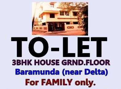 3 BHK 1650 Sq.ft. Residential Apartment for Rent in Baramunda, Bhubaneswar