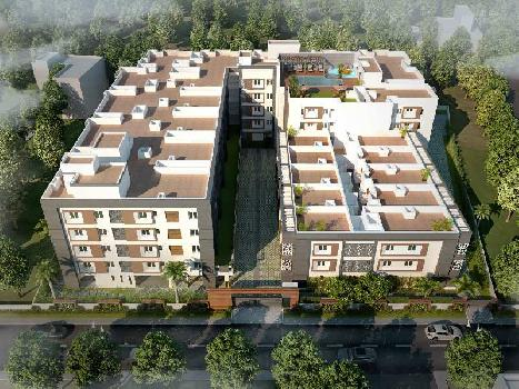 2 BHK 1233 Sq.ft. Residential Apartment for Sale in Sholinganallur, Chennai