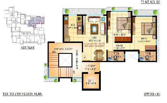 2 BHK 950 Sq.ft. Residential Apartment for Sale in Kurla West, Mumbai