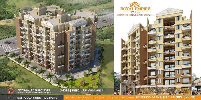 1 BHK 630 Sq.ft. Residential Apartment for Sale in Badlapur Gaon, Thane