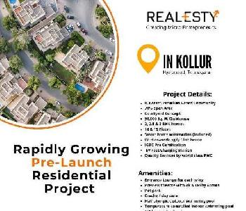 2 BHK 1430 Sq.ft. Residential Apartment for Sale in Kollur, Hyderabad