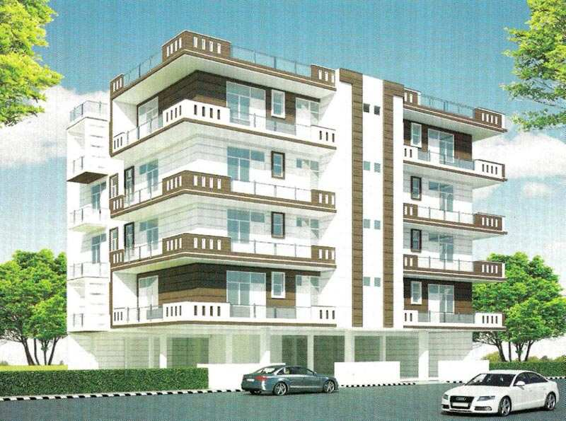 2 BHK Flats & Apartments for Sale in Lal Kuan, Ghaziabad - 960 Sq.ft.