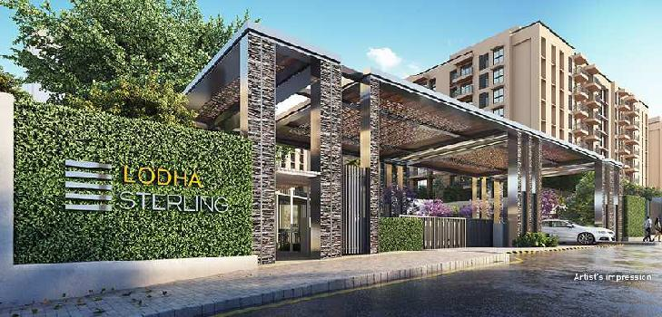 2 BHK 1150 Sq.ft. Residential Apartment for Sale in Kolshet Road, Thane