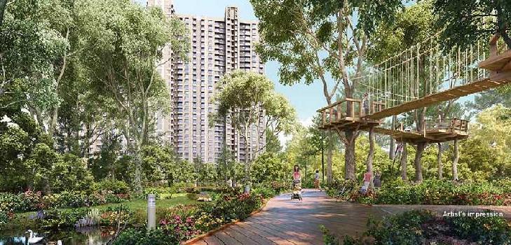 1 BHK 613 Sq.ft. Residential Apartment for Sale in Kolshet Road, Thane