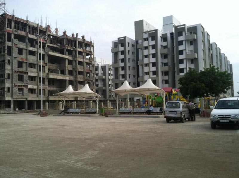 2 BHK Flats & Apartments for Sale in Wardha Road, Nagpur - 1020 Sq.ft.