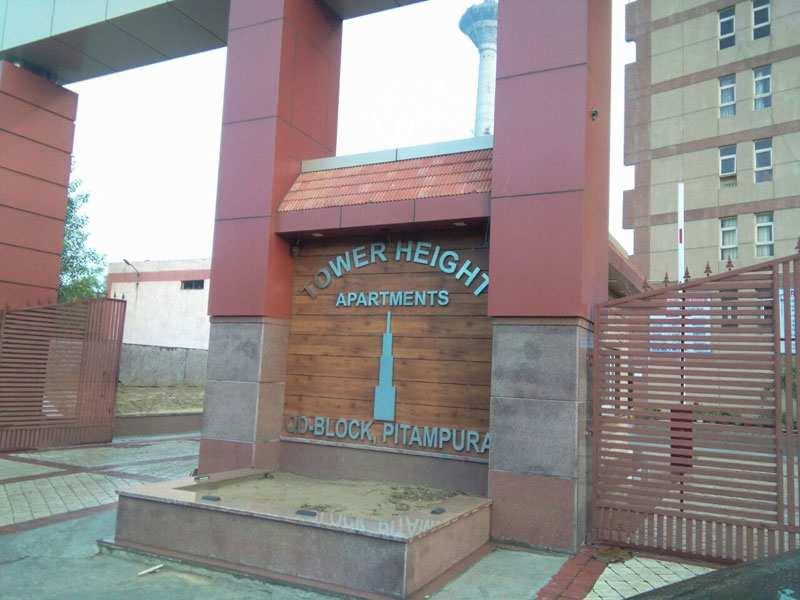 3 BHK Flats & Apartments for Sale in Pitampura, North Delhi - 1410 Sq.ft.