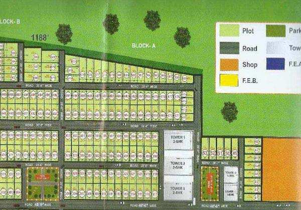 Residential Plot for Sale in Parao, Varanasi - 1000 Sq. Feet