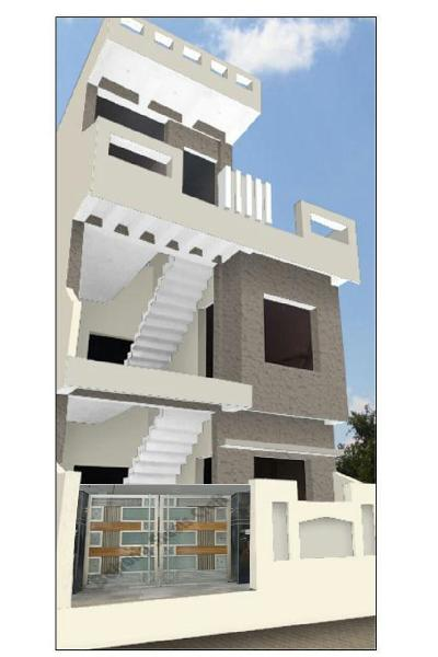 4 BHK Individual House for Sale in Raisen Road, Bhopal - 1050 Sq. Feet