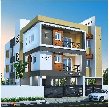 2 BHK 794 Sq.ft. Residential Apartment for Sale in Medavakkam, Chennai