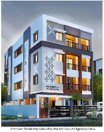 2 BHK 1016 Sq.ft. Residential Apartment for Sale in Vimala Nagar, Medavakkam, Chennai