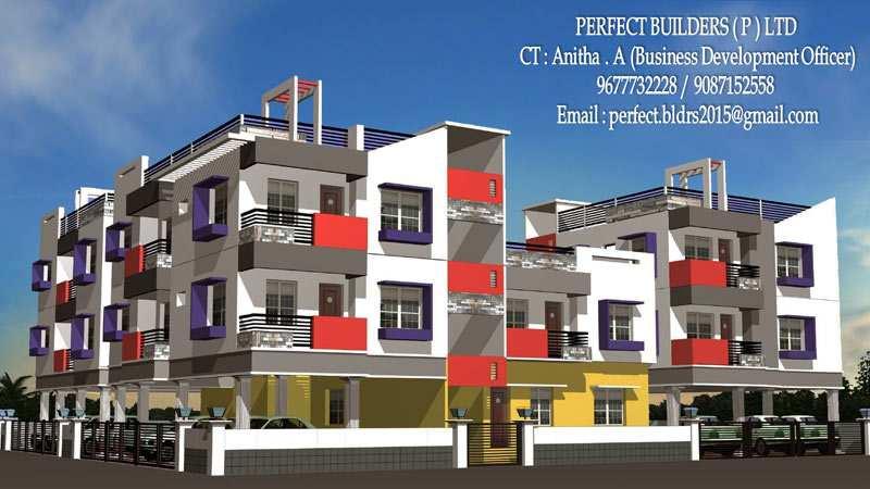 2 BHK Flats & Apartments for Sale in Kilkattalai, Chennai - 1045 Sq.ft.