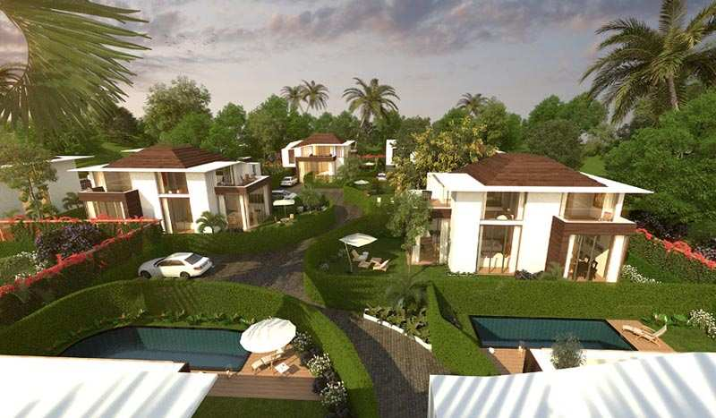 3 BHK Bungalows / Villas for Sale in Anjuna - 3750 Sq.ft.
