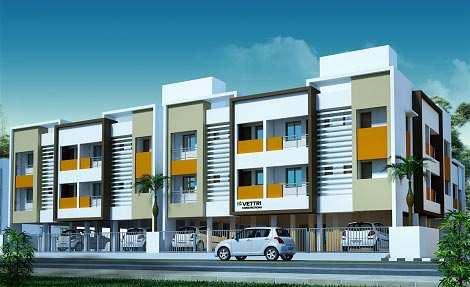 2 BHK Flats & Apartments for Sale in Kattupakkam, Chennai - 835 Sq.ft.