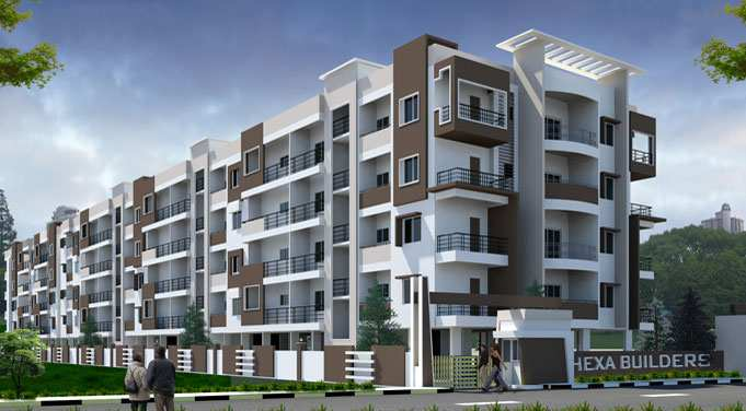 2 BHK Flats & Apartments for Sale in Devanachicknhalli, Bangalore South - 1210 Sq.ft.