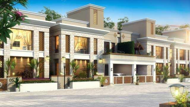 3 BHK Bungalows / Villas for Sale in Ajwa Road, Vadodara - 1588 Sq.ft.