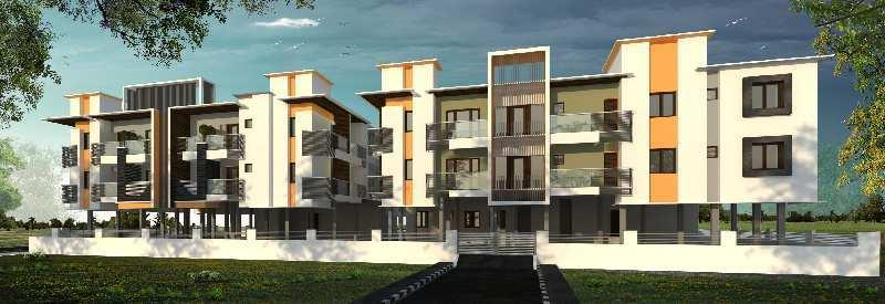 2 BHK 1085 Sq.ft. Residential Apartment for Sale in Perumbakkam, Chennai