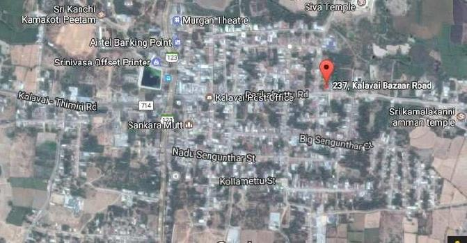 1300 Sq.ft. Commercial Land for Sale in Kalavai, Vellore